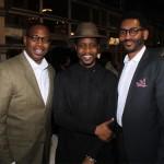 Dr. Said Sewell, Sammie Haynes and Samuel Ellison