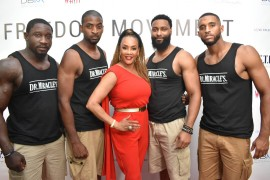 Dr. Miracle Models and Actress Vivica A. Fox