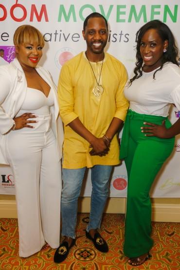 Producer Princess, Sammi and Dr. Isaac