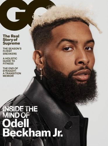 Odell Beckham Jr. August GQ Cover